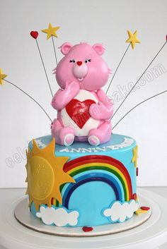 Celebrate with Cake!: Carebears Anniversary Cake