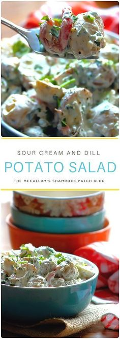 sour-cream-and-dill-potato-salad-recipe-collage