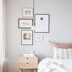 30 inspirations d co pour la chambre graphisme murs avec un accent noir et or blanc. Black Bedroom Furniture Sets. Home Design Ideas
