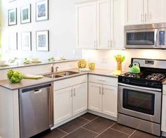 Get Fresh And BRIGHT With A White Cabinet Kitchen