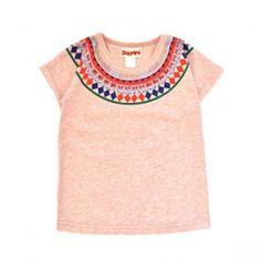 Tee-shirt Inca blush Siaomimi