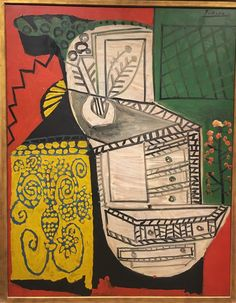 The Chinese Chest of Drawers (La Commode Chinoise), 1953 by Pablo Picasso from Virginia Museum of Fine Arts Picasso Art, Picasso Paintings, Guernica, Trinidad, Cubist Movement, Spanish Painters, Henri Matisse, Museum Of Fine Arts, Canvas Art Prints