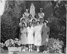Victory Nurses Aides. Pensacola Hospital, Florida. September 21, 1942. - From the Roosevelt Presidential Library and Museum