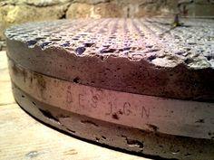 Zegar fragm. // projekt i foto Marcin Boratyn // odlew z betonu, metal