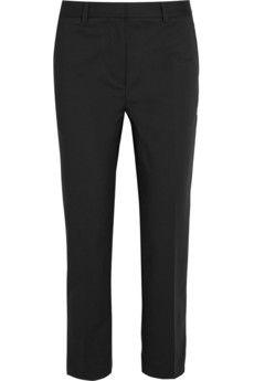 E: 3.1 Phillip Lim Pencil stretch cotton-blend tapered pants | NET-A-PORTER