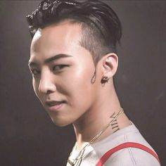 G-Dragon. I KNEW IT WAS A TATTOO. He's so creative