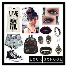 """""""Untitled #84"""" by julialopez03 on Polyvore featuring Converse, Forever 21, Ollie & B and John Hardy"""