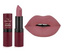 Golden Rose Velvet Matte Lipstick - color 02 Golden Rose http://www.amazon.co.uk/dp/B00SA9LJ6W/ref=cm_sw_r_pi_dp_-Rsowb1E97DGY