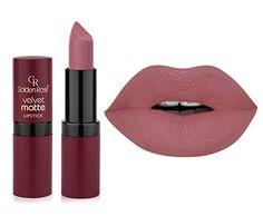 Golden Rose Velvet Matte Lipstick - color 02 Golden Rose http://www.amazon.co.uk/dp/B00SA9LJ6W/ref=cm_sw_r_pi_dp_-Rsowb1E97DGY