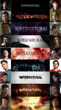 Supernatural Seasons 1-9