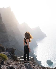 @cristinaverdu in Las Palmas de Gran Canaria 🔥| All photo credits to @gustavokarlsson. #Dopesnow #outdoor #mountains #travel #explore #spring