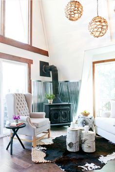 Before and After: An Eclectic Park City Makeover via @MyDomaine
