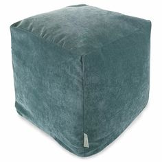 Latitude Run Sosebee Pouf Ottoman & Reviews | Wayfair Bean Bag Ottoman, Pouf Ottoman, Cube Chair, The Colour Of Spring, Leather Pouf, Dot And Bo, Contemporary Furniture, Slipcovers, Home Goods
