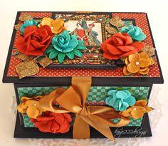 Enchanted Forest Mini Box - Scrapbook.com