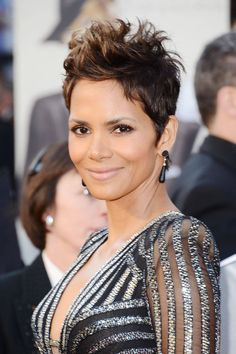 Halle Berry, 2013 - When Berry first cut her hair short in 1989, her manager told the future Oscar winner she was never going to get work. She believes she booked her first role in the TV series Living Dolls simply because she stood out among all the other actresses with long, wavy strands.