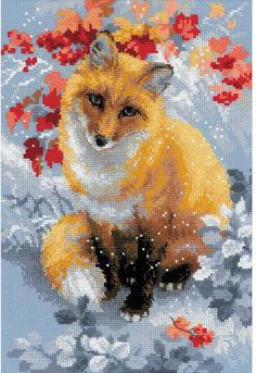Express your love for arts and crafts with these beautiful cross stitch kits! Find a themed kit for any taste! This package contains 14 count colored Zweigart Aida fab Hedgehog Cross Stitch, Elephant Cross Stitch, Cross Stitch Animals, Counted Cross Stitch Kits, Cross Stitch Embroidery, Cross Stitch Patterns, Cross Stitch Pictures, Crossstitch, Arrow Keys
