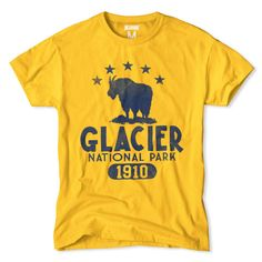 Glacier National Park T-Shirt | Tailgate Clothing | Frank Ozmun Graphic Design