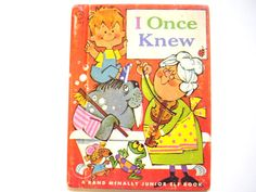 I Once Knew a Vintage Children's Book by lizandjaybooksnmore, $10.00