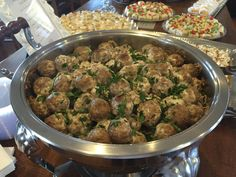 Alfredo Italian Meatballs - Catering by Debbi Covington - Beaufort, SC