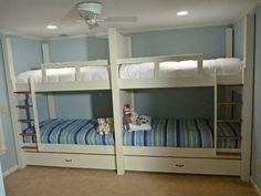 Custom Made Quad Bunk Bed