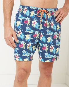 Tommy Bahama - Naples Nightcliff Beach 6-inch Swim Trunks