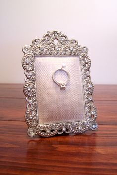 Ring Holder for Engagement or Wedding Ring by TheCharmingPeach, $14.95