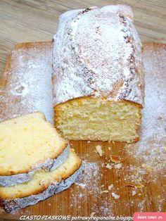 Polish Desserts, Polish Recipes, Cookie Desserts, Dessert Recipes, Cranberry Orange Bread, Sand Cake, Pound Cake Recipes, Pumpkin Cheesecake, Sweet Bread