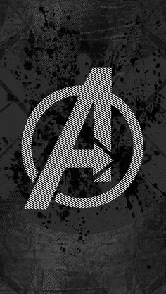 freeios8.com - am03-avengers-logo-art-hero-dark - http://freeios8.com/am03-avengers-logo-art-hero-dark/ - iPhone, iPad, iOS8, Parallax wallpapers
