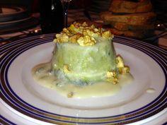 4 Foodies: Flanella di broccolo siciliano con salsa al gorgon...
