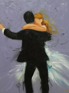 LOVE this!! Commission your own Dance custom portrait painting by by RozArt, $165.00