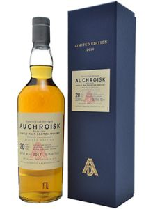Auchroisk 20 Year Old Limited Edition Single Malt Scotch Whisky.  Aged for over 20 years, this single malt #Scotch #whisky was discontinued after fewer than 6,000 bottles were produced.   @Caskers