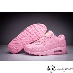 Nike Air Max 90 Womens Shoes All Pink Shanghai Must Win Cake - Best Seller