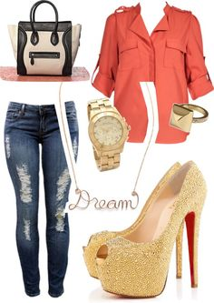 """Dream Outfit!"" by lvluv ❤ liked on Polyvore"