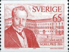 """Sweden """"Nobel Price WInners in - von Laue, Arne Wallhorn sc. Nobel Prize Winners, Stamp Collecting, Postage Stamps, Norway, Literature, Science, History, Colonial, Vikings"""