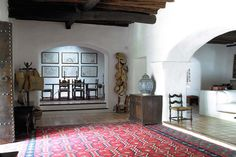 Sabina lip to steps.  Traditional terracotta tiles still looks great with carpet