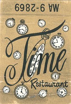 Time Restaurant by jericl cat, via Flickr
