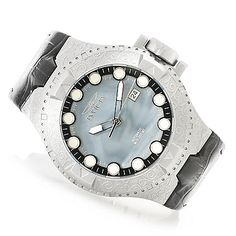 Invicta 50mm Excursion Excalibur Automatic Leather Strap Watch