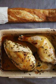 Celebrate Valentine's Day with lavender chicken.