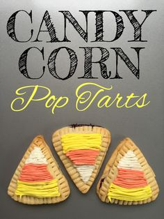 Candy Corn Pop Tarts Recipe