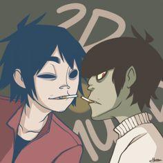 Gorillaz 2D x Murdoc