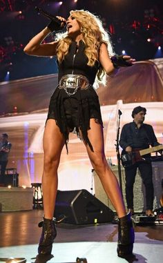 Sexy Carrie Underwood at the Apple  Music festival