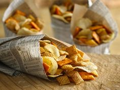Salt and Vinegar Chex Mix