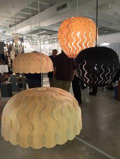 The brand new Beau and Belle pendant lights by David Trubridge! #lighting #design