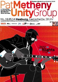 Pat Metheny Unity Group Poster