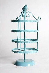 Spinning Bird Jewellery Stand