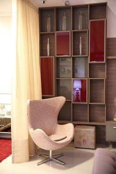 Ideia de decoração que pode servir como elemento decorativo para um living, sala de jantar, quarto ou para um escritório!