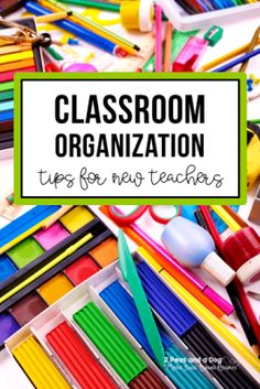 Keeping your classroom organized is not only an effective tool for teachers but it helps students achieve more independence because they are not constantly asking you where things are located. Read fantastic tips from teachers to help you achieve your organized classroom goals from 2 Peas and a Dog. #organization #organizedclassroom #backtoschool #newteachers #2peasandadog