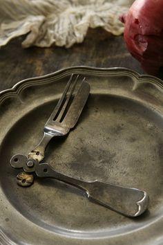 Cutlery, Home Furniture, Copper, Metal, Table, Silver, Design, Home Goods Furniture, Flatware