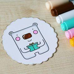 #thedailymarker30day #blackberryjellys #bear #drawing #coloringchallenge #coloring #digi #digistamp #digitalstamp #stamp #markers #copic #copicmarkers #cardmaking #scrapbooking #cute #present #раскрашивание #рисунок #мишка #штампик #маркеры #скрапбукинг