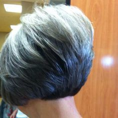 gray hair styles for women - Google Search